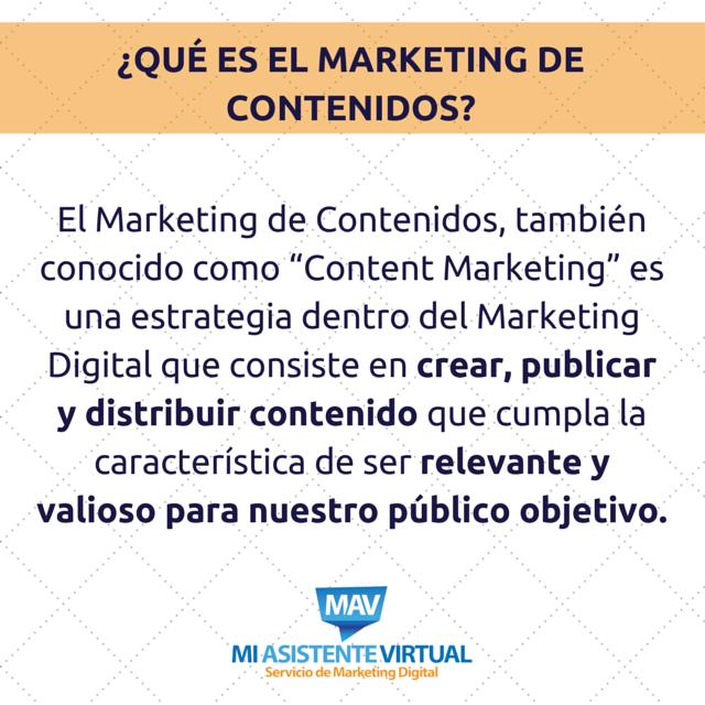 Marketing de Contenidos Concepto