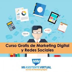 Curso Gratis de Marketing Digital y Redes Sociales