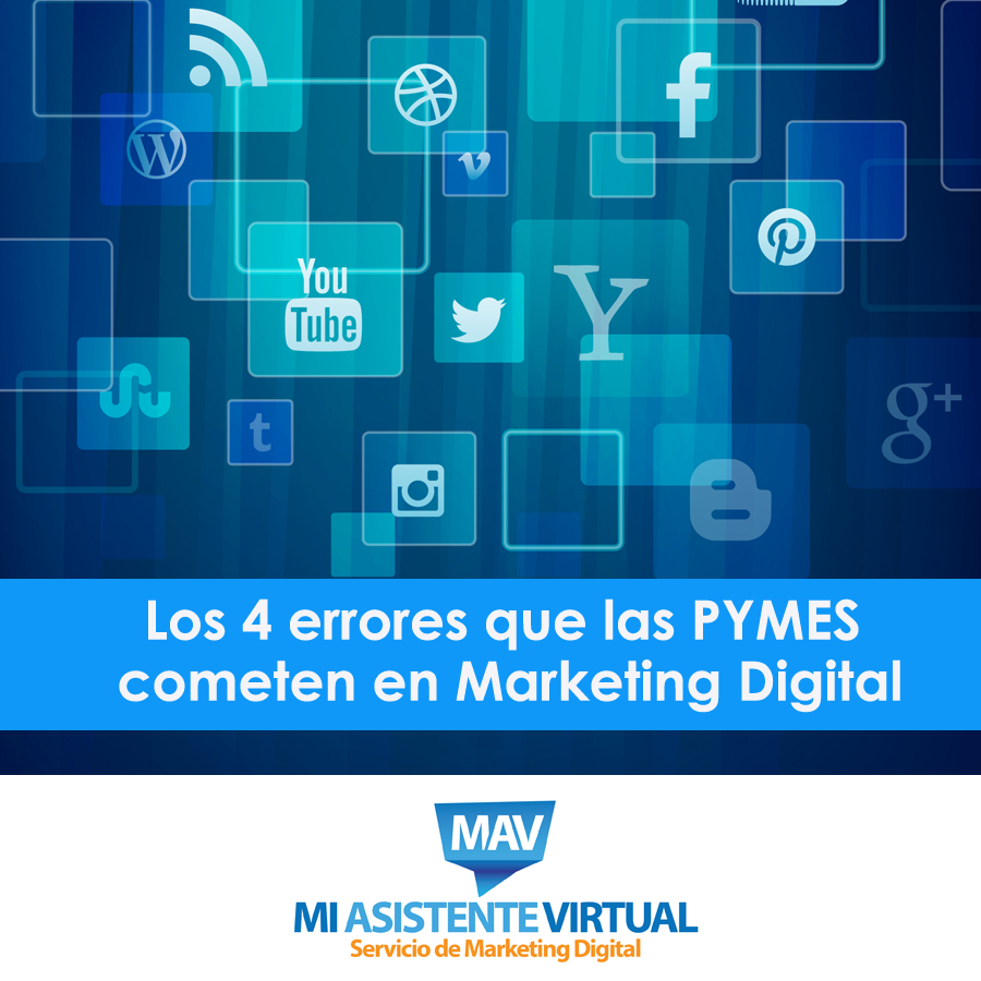 Errores de las PYMES en Marketing Digital
