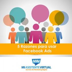 5 razones para usar Facebook Ads