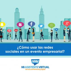 ¿Cómo usar las redes sociales en un evento empresarial?